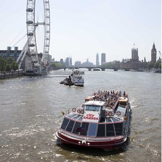 Win a Lunch Cruise for 2 with City Cruises