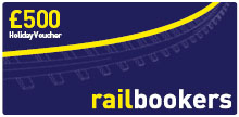 Win £500 Rail Holiday Vouchers!