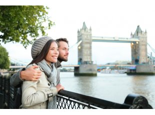 couple in London image